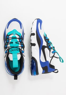 Nike Sportswear - NIKE AIR MAX 270 RT BP - Baskets basses - white/black/hyper blue/oracle aqua