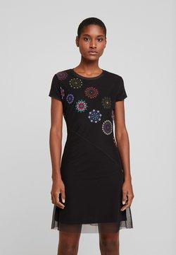 Desigual - VEST DAMMI - Korte jurk - multi-coloured