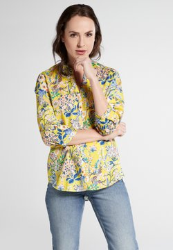 Eterna - Bluse - yellow/blue/rose