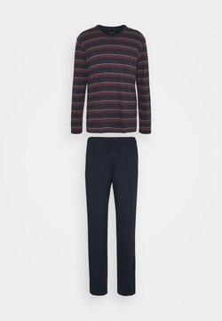 Schiesser - SCHLAFANZUG LANG - Pyjama - dunkelblau