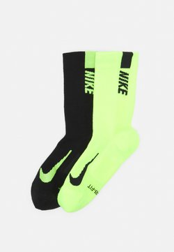 Nike Performance - 2 PACK UNISEX - Calcetines de deporte - black