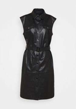 KARL LAGERFELD - DRESS - Robe chemise - black