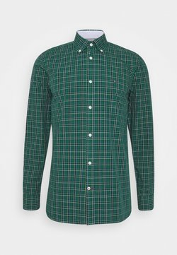 Tommy Hilfiger - SLIM SMALL TARTAN CHECK - Koszula - green