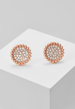 SNÖ of Sweden - VERSAILLE SMALL COIN EAR - Kolczyki - rosegold-coloured