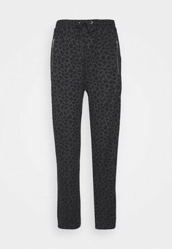 Wallis - MIXED ANIMAL - Jogginghose - black