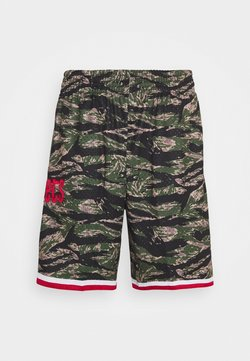 Mitchell & Ness - NBA HOUSTON ROCKETS TIGER CAMO SWINGMAN SHORT - Urheilushortsit - multi coloured