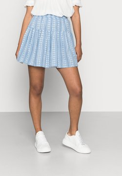 YAS Petite - YASPACCA SKIRT PETITE - Minifalda - cashmere blue