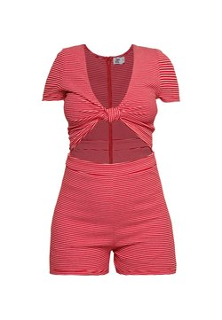 Tiger Mist - LULU PLAYSUIT - Combinaison - white/red