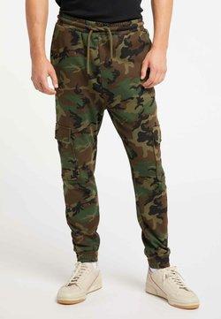 TUFFSKULL - Pantalon de survêtement - camouflage aop