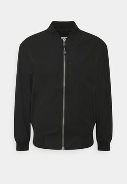 TOM TAILOR DENIM - CLEAN  - Giubbotto Bomber - black