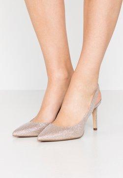 MICHAEL Michael Kors - LUCILLE FLEX SLING - Zapatos altos - pale gold