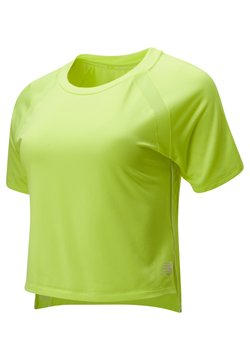 New Balance - VELOCITY - T-Shirt print - lemon slush