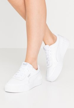 Puma - CARINA LIFT  - Matalavartiset tennarit - white