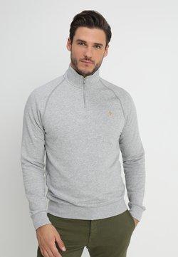Farah - JIM ZIP - Sweater - light grey