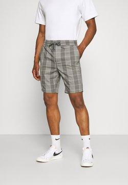Only & Sons - ONSLINUS CHECK - Shorts - medium grey melange