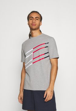 Tommy Hilfiger - GRAPHIC TEE - Printtipaita - grey