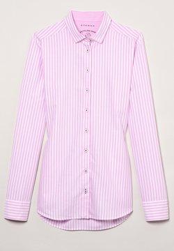 Eterna - MODERN CLASSIC - Hemdbluse - rosa/weiß
