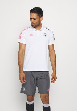 adidas Performance - REAL MADRID SPORTS FOOTBALL SHORT SLEEVE - Pelipaita - white