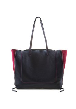 Mywalit - RHODES - Shopping Bag - black/chianti