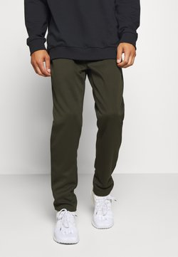 Jack & Jones - JJIWILL JJZPOLYESTER PANT - Verryttelyhousut - forest night