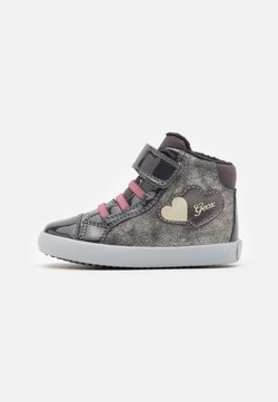 Geox - GISLI GIRL - High-top trainers - gun