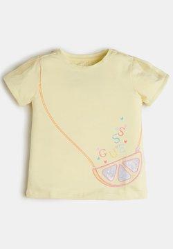 Guess - T-shirt print - gelb