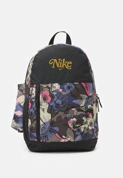 Nike Sportswear - ELEMENTAL 20 L UNISEX - Reppu - off noir/metallic gold