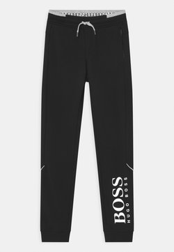 BOSS Kidswear - BOTTOMS - Träningsbyxor - black