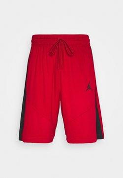 Jordan - JUMPMAN SHORT - kurze Sporthose - gym red/gym red/black/black