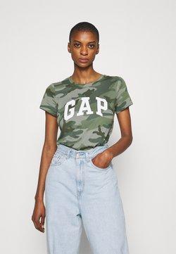 GAP - TEE - T-Shirt print - khaki