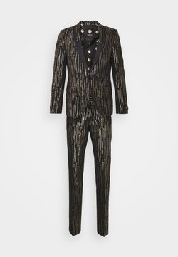 Twisted Tailor - SAGRADA SUIT - Completo - black/gold