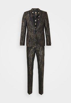 Twisted Tailor - SAGRADA SUIT - Suit - black/gold