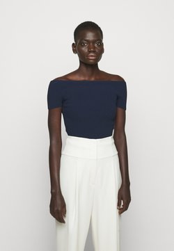 Theory - COMPACT  - T-shirt con stampa - midnight
