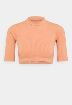 NU-IN - CROPPED  - T-shirt print - light pink