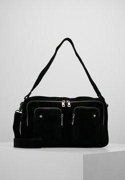 Núnoo - ALIMAKKA NEW SUEDE - Handtasche - black