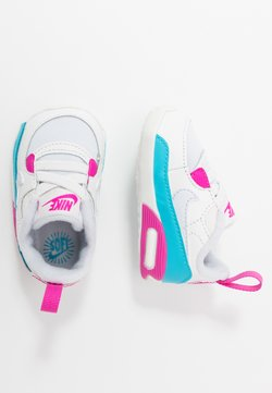 Nike Sportswear - MAX 90 CRIB - Obuwie do raczkowania  - football grey/summit white/fire pink