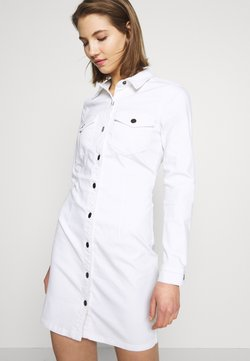 JDY - JDYSANNA DRESS - Vestido vaquero - white