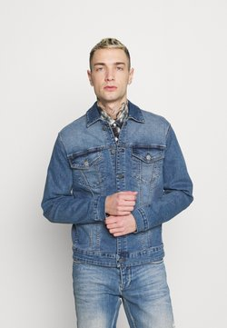 Only & Sons - ONSCOME LIFE TRUCKER - Veste en jean - blue denim
