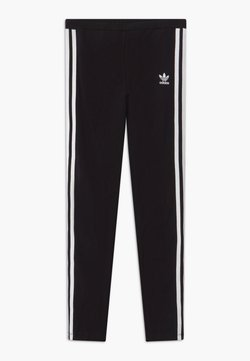adidas Originals - SOLID - Legging - black/white