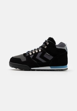 Hummel - NORDIC ROOTS FOREST MID UNISEX - Sneaker high - black