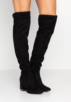 Calvin Klein - MONIFAH - Overknee laarzen - black