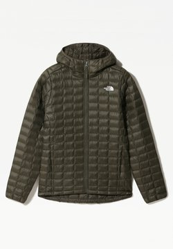 The North Face - W THERMOBALL ECO HOODIE - EU - Impermeabile - new taupe green matte