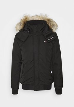 Tommy Jeans - TECH BOMBER UNISEX - Winterjacke - black