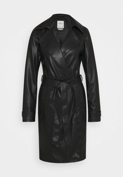 Abercrombie & Fitch - Trenchcoat - black