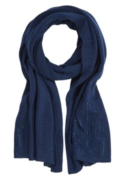 comma - MIT GLITZERSTEINCHEN - Schal - dark blue