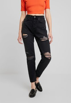 Even&Odd - Relaxed fit jeans - black denim
