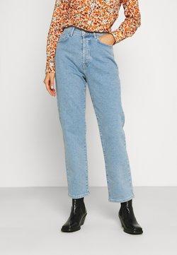 NA-KD - HIGH WAIST - Jeans straight leg - light blue