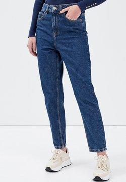Cache Cache - CACHE CACHE MOM-JEANS MIT HOHEM BUND - Jeans Slim Fit - denim stone