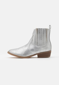 Cotton On - WESTERN BOOT - Cowboy-/Bikerlaarsjes - silver