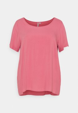ONLY Carmakoma - CARFIRSTLY LIFE - Bluse - baroque rose
